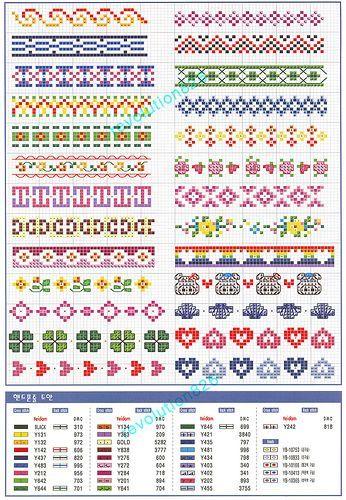 Schema punto croce Idee 170