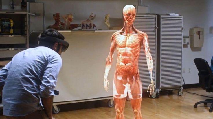 Holograms redefine med ed