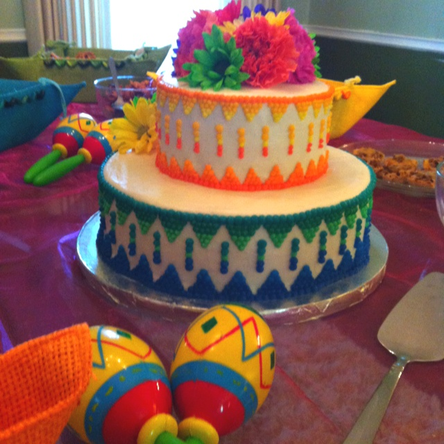 17 Best Fiesta Themed Baby Shower Images On Pinterest