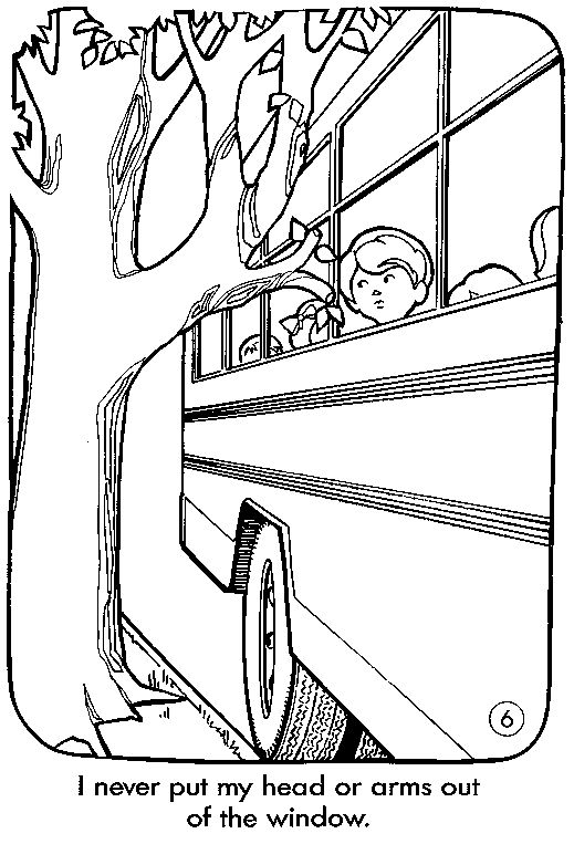 Best 25 school bus safety ideas on pinterest school bus for Bus safety coloring pages