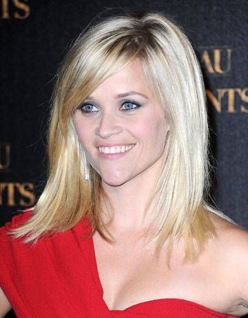 Reece Witherspoon's long bob