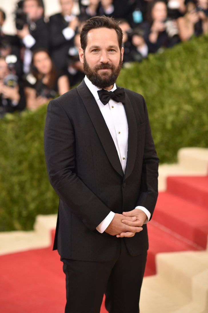 Pin for Later: Feast Your Eyes on All the Handsome Celebrity Guys at the Met Gala Paul Rudd