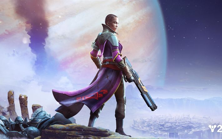 Download wallpapers Ikora Rey, 4k, 2017 games, action, Destiny 2