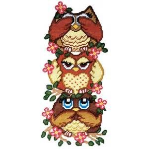 free plastic canvas owl patterns Yahoo Search Results