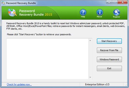 Password Recovery Bundle Screenshots