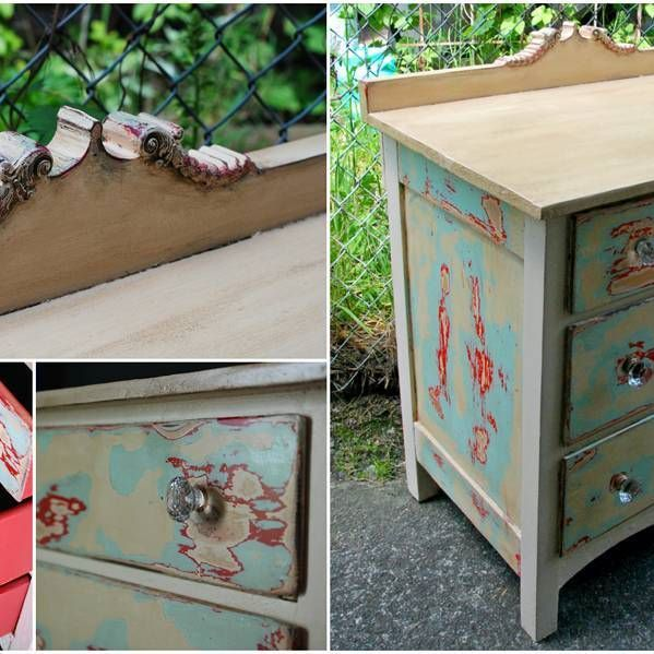 Antique Exposed Layers Dresser - Sold.  #antique #furniture