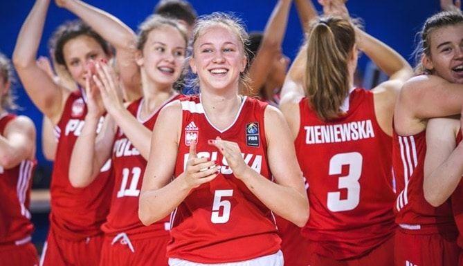 IRLANDIA - Mecz: Polska - Irlandia. Półfinał Mistrzostw Europy Koszykówki Kobiet w Dublinie