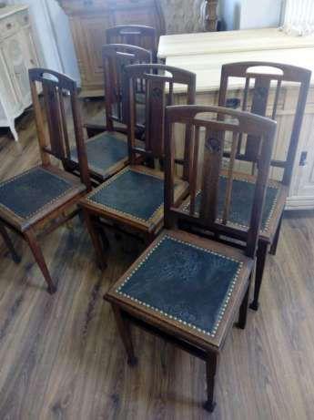Vintage Store Witkowo krzesła secesyjne secesja 6 sztuk komplet Witkowo - image 4