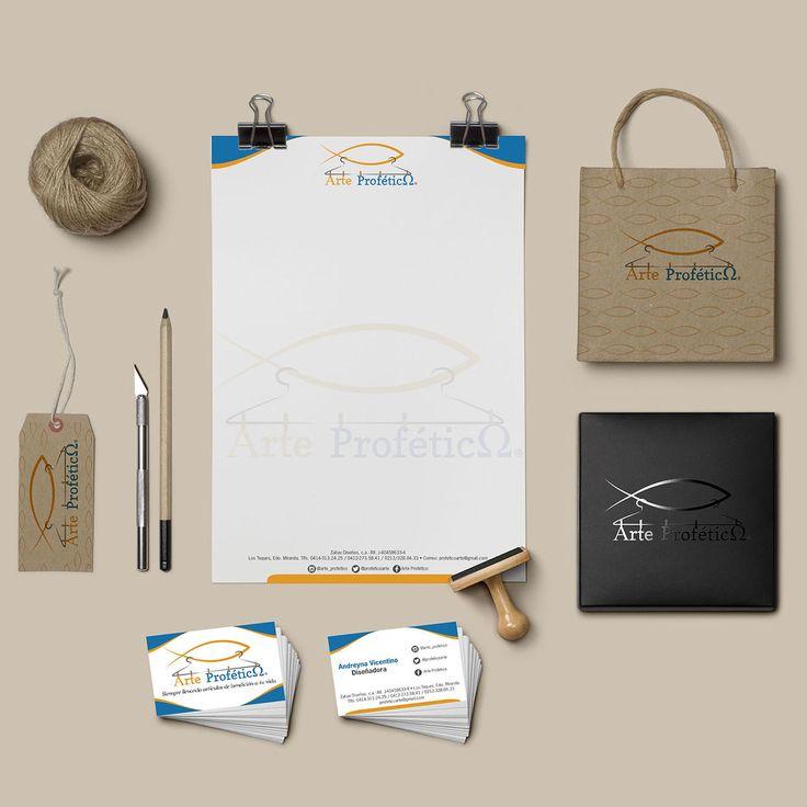Arte Profético, papelería básica y aplicaciones