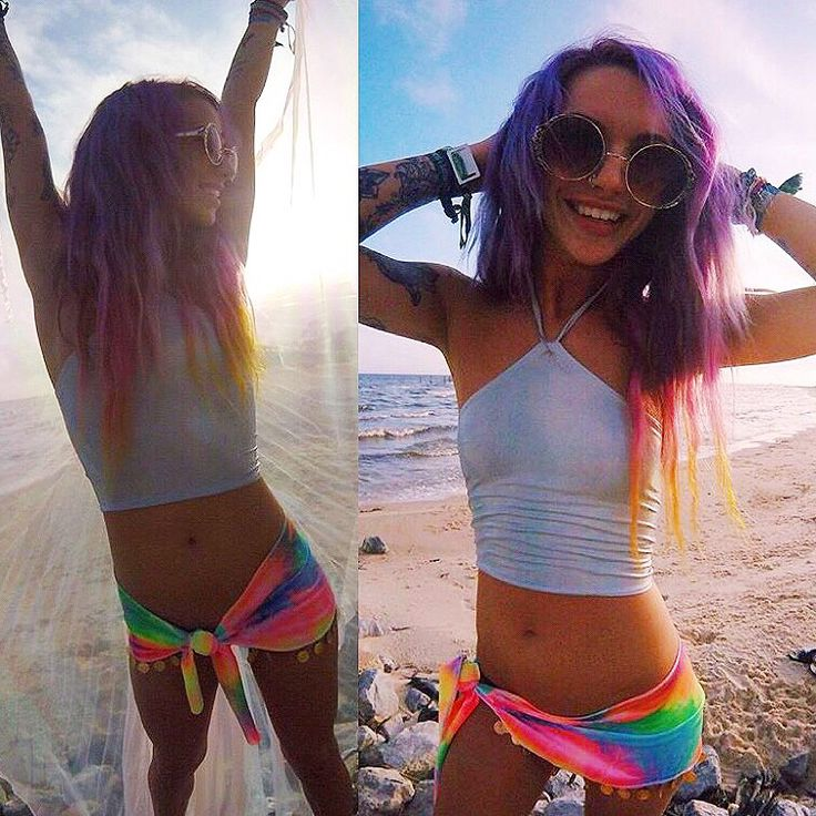 La Gitana Tie Dye Velvet Coin Skirt • ravewithmigente.com • festival  fashion ravewear halter - Best 20+ Rave Clothing Ideas On Pinterest Rave Outfits, Rave