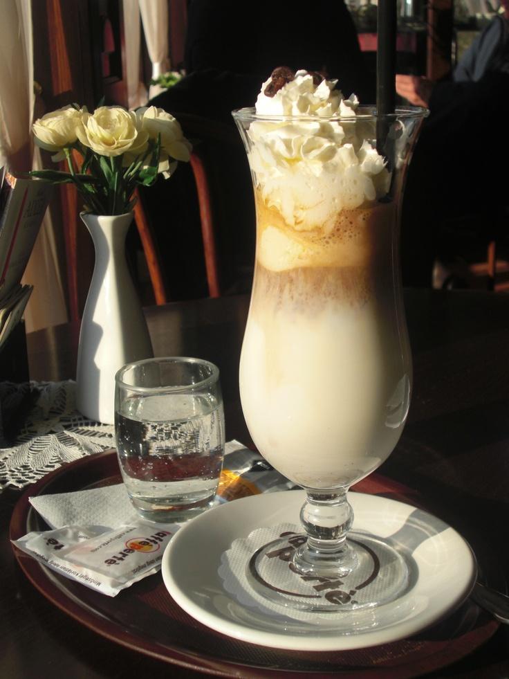 hideg kávé, Budapest.