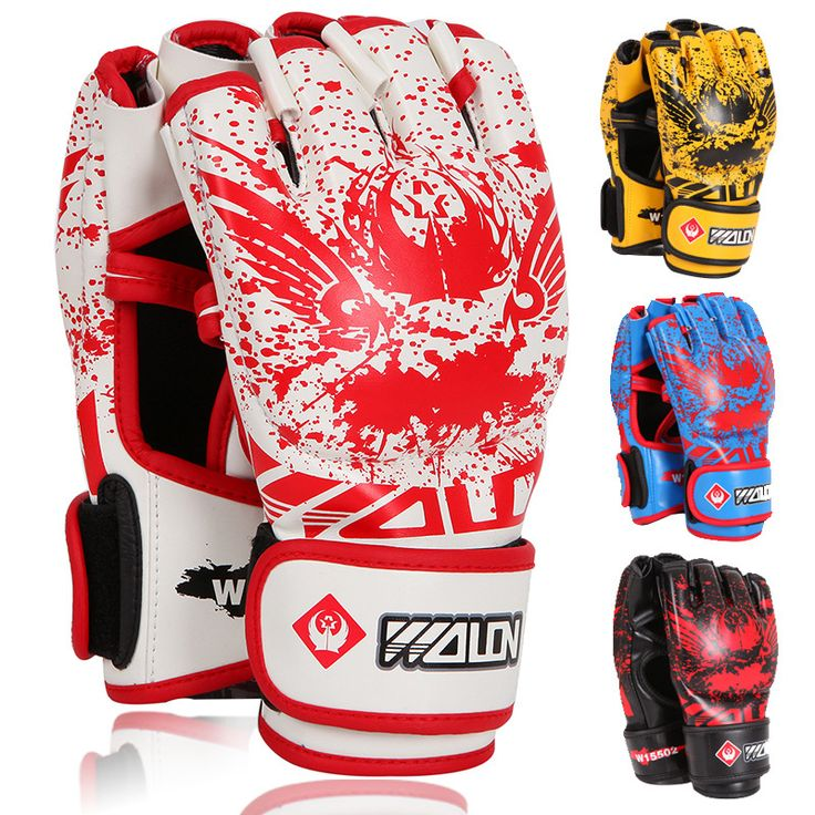10Pcs/Lot M3 <font><b>Boxing</b></font> Gloves Adults Pu Leather Kickboxing Hand Wrag Half Finger Muay Thai Gloves Boxhandschuhe Kung Fu <font><b>Equipment</b></font>. >>> See more at the image link