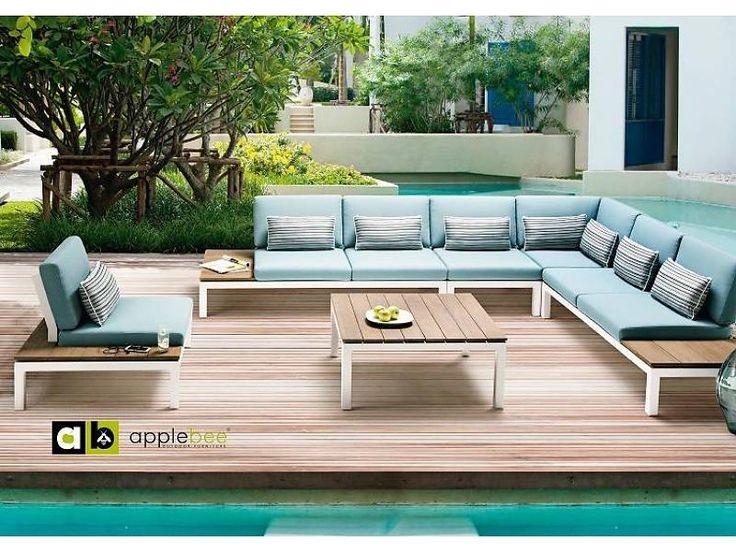 Tuinmeubelen collectie 2015   Fonteyn   Apple Bee #tuinmeubelen #tuinset #lounge #loungeset #