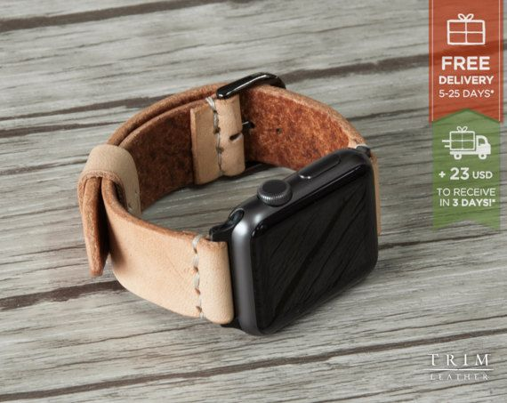 Apple Watch Band Leather Watch Band Minimal in от TRIMleather