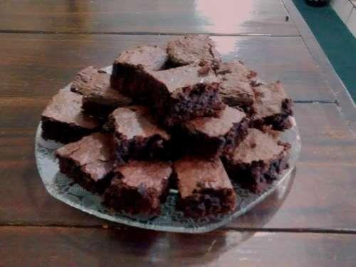 Brownie de chocolate simples