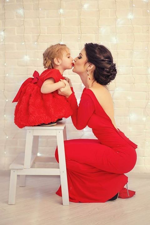 <3 Like Mom, Like Daughter <3  Follow Nathalya's Closet & Share this with friends!