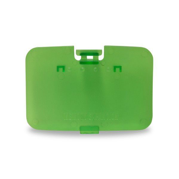NEW Clear Jungle Memory Expansion - Jumper Pak Cover - Lid For Nintendo 64 - N64 #HYPERKIN