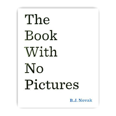 The Book With No Pictures - mini mioche - organic infant clothing and kids clothes - made in Canada