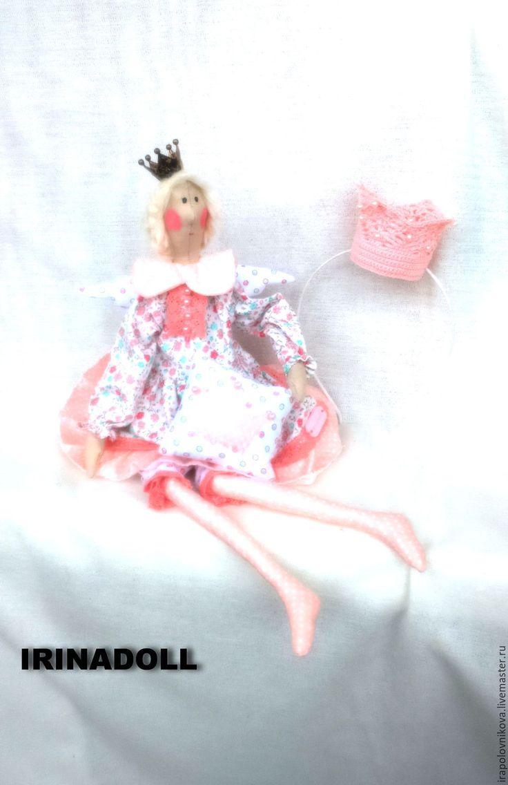 Купить Кукла - Принцесса на горошине. - кремовый, кукла, кукла ручной работы…