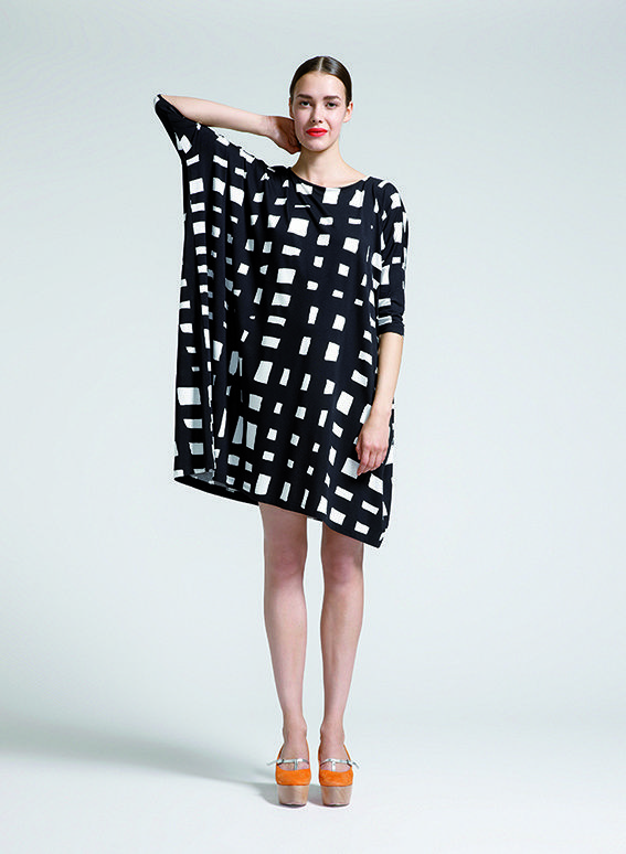 Pattern design Marimekko, Finland 2011 – 2013 (Clothing design: Noora Niinikoski, Mai Ohta)