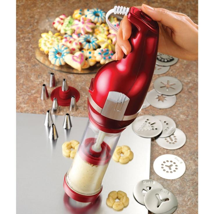 Electric Cookie Press | Nom Nom - Cookies | Pinterest ...