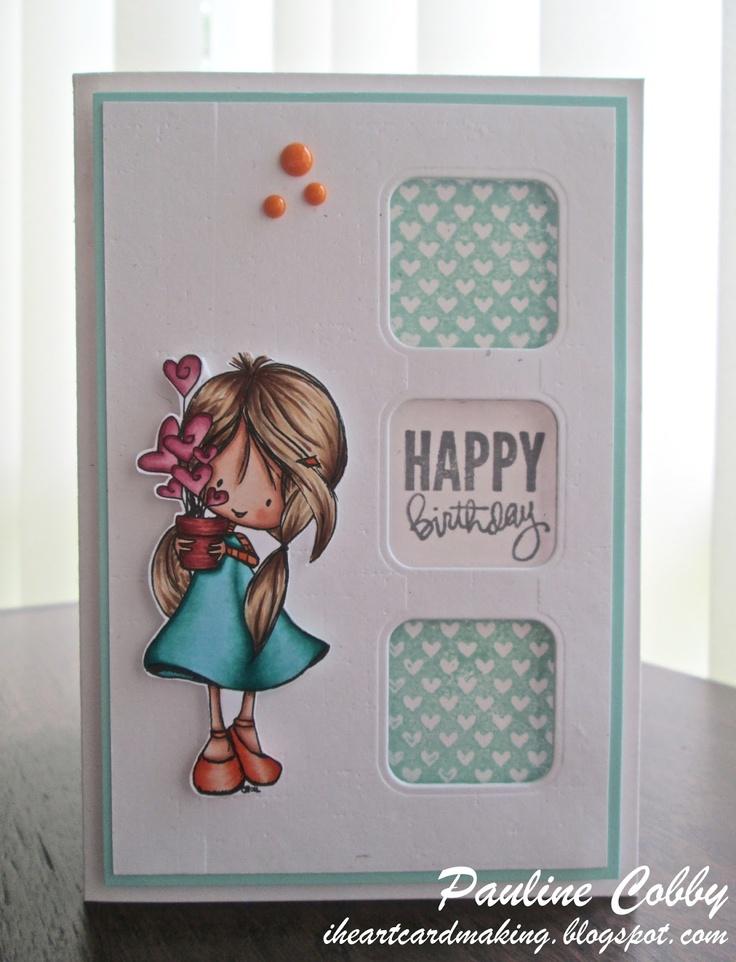 I {Heart} Cardmaking: Tiddly Inks Challenge #107