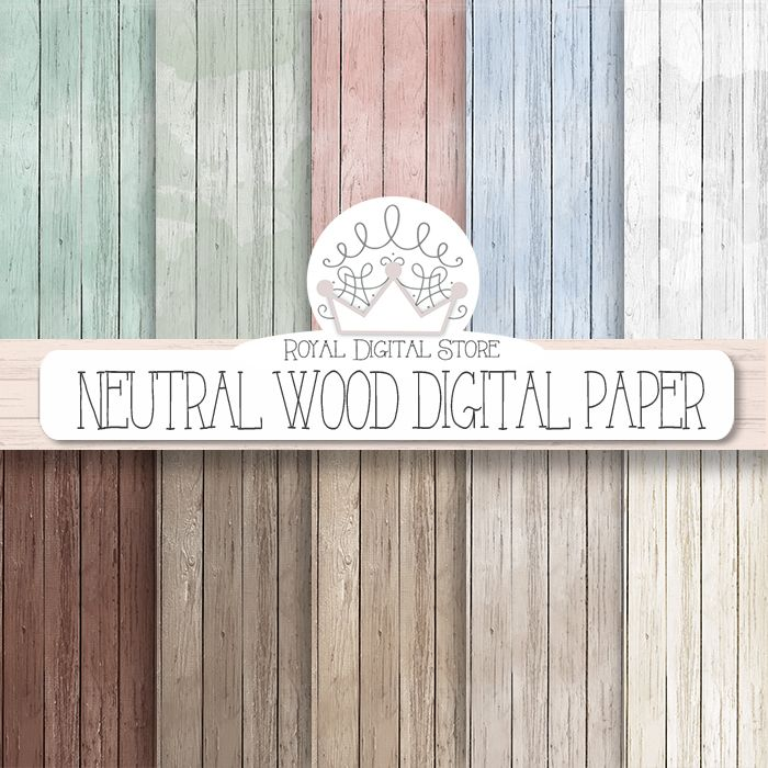 "Wood digital paper: ""Neutral Wood Digital Paper"" with rustic wood texture, distressed wood, brown, grey wood, digital wood background https://www.etsy.com/listing/189817221/wood-digital-paper-neutral-wood-digital?ref=shop_home_active_17"