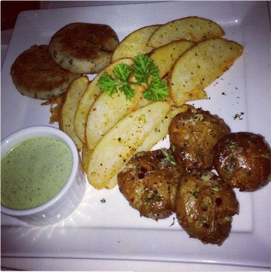 Three Way Potato Platter Picture Courtesy: Anuja Deora