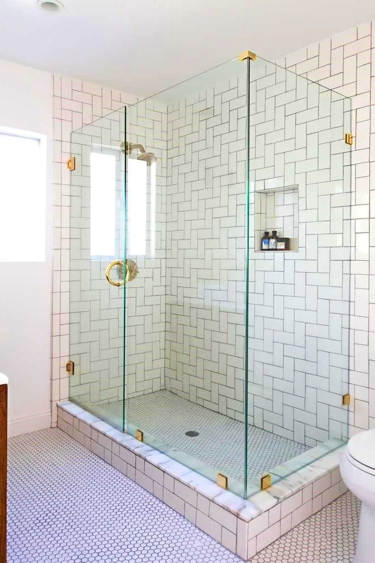 252 best bathroom ideas images on pinterest bathrooms home ideas bathroombreathtaking white subway tile shower cool stall wall beadboard bathroom with grout accent porcelain dailygadgetfo Images