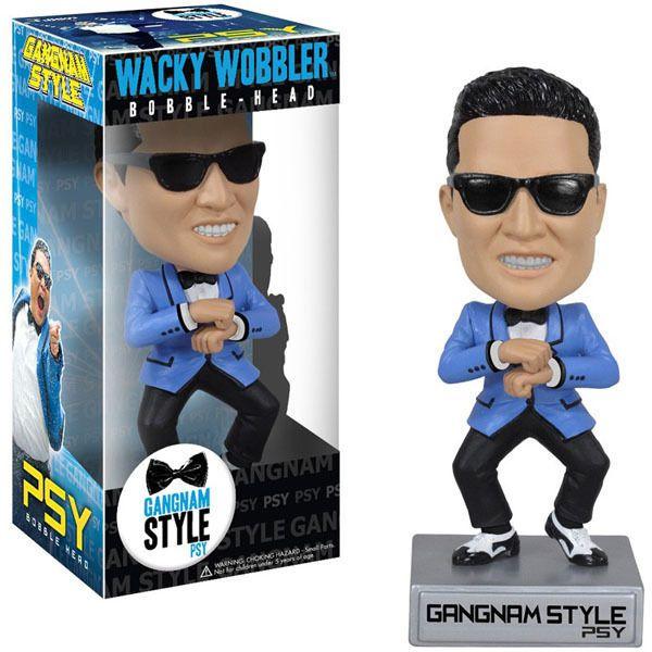 FUNKO WACKY WOBBLER GANGNAM STYLE BOBBLE HEAD FIGURES NEW  | eBay
