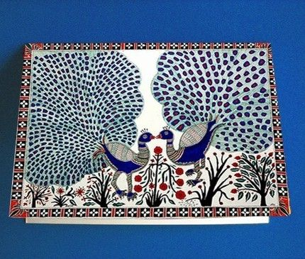 Indian folk art - Madhubani?