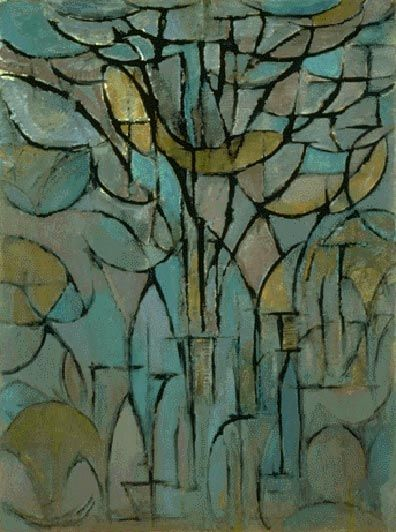 (Tree by Piet Mondrian, 1872-1944
