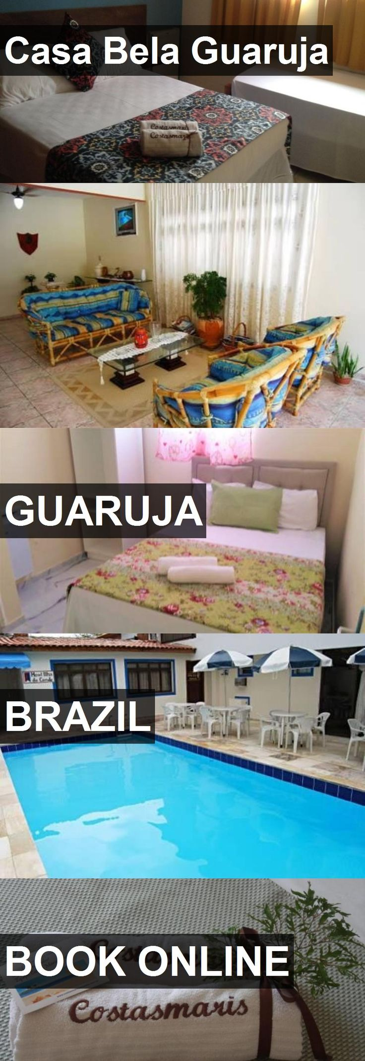 Hotel Casa Bela Guaruja in Guaruja, Brazil. For more information, photos, reviews and best prices please follow the link. #Brazil #Guaruja #CasaBelaGuaruja #hotel #travel #vacation