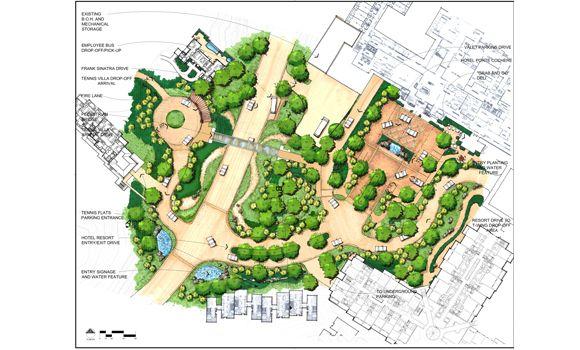 development site plans - land