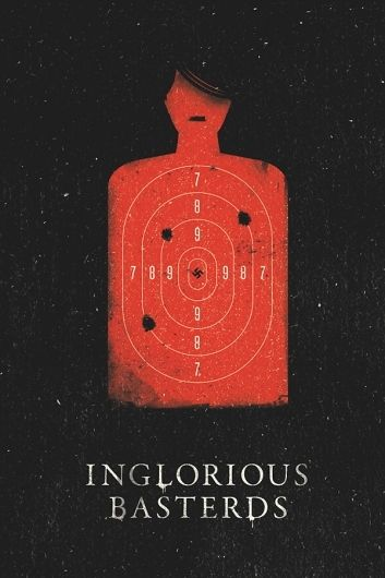Inglorious Basterds a Quentin Tarantino movie with Brad Pitt, Christopher Waltz