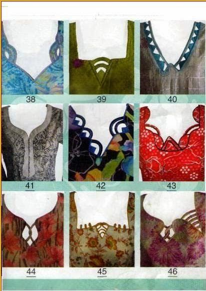 More images of dress neck design