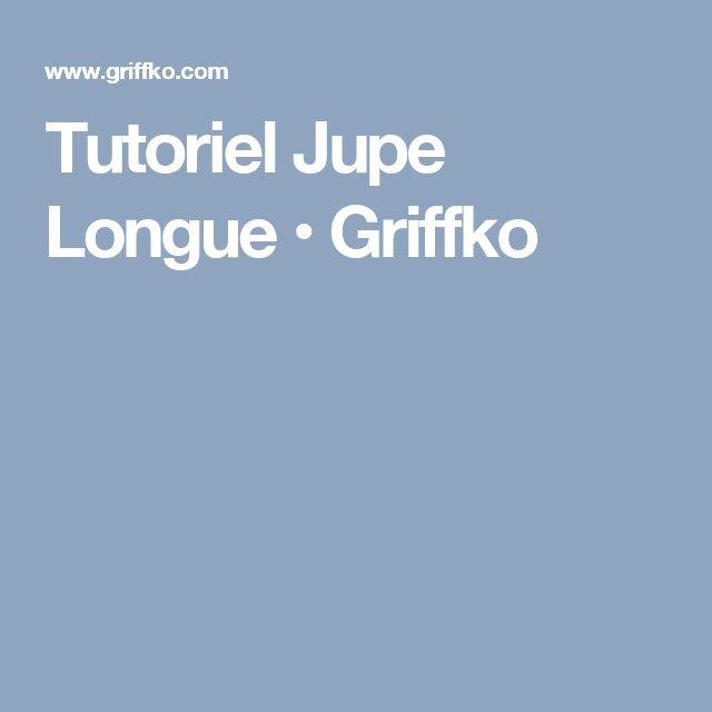 Tutoriel Jupe Longue • Griffko