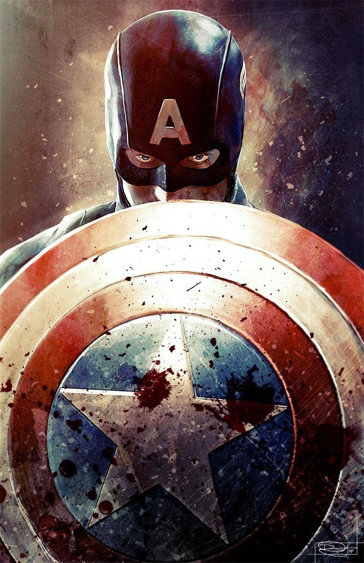 Capitão América por DanielMurrayART