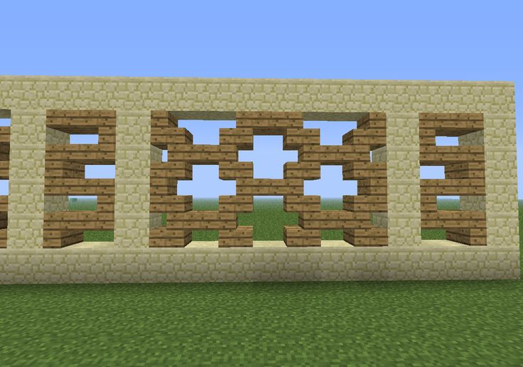 window decoration pattern minecraft pinterest fence
