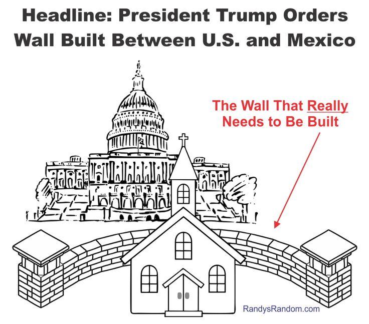Build the Wall - Randy's Random