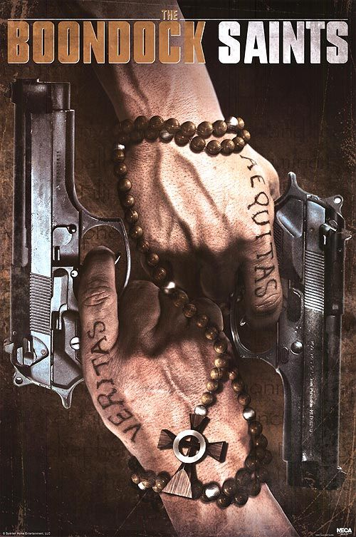 Boondock Saints Movie Poster
