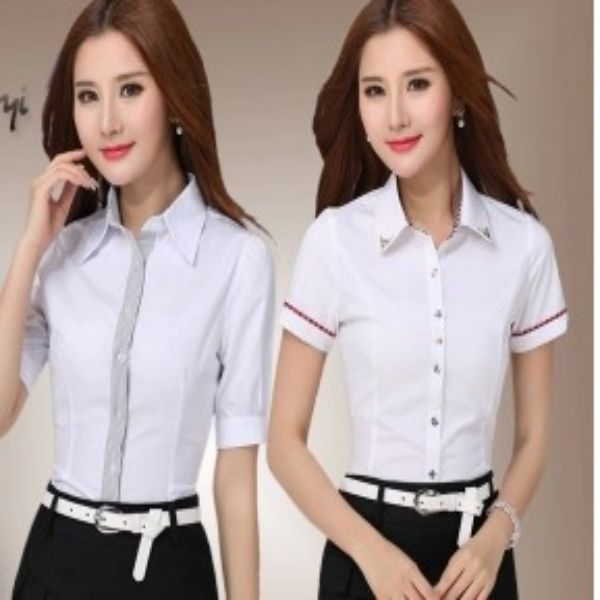 Office uniform designs for women pants and blouse view for Office uniform design 2014
