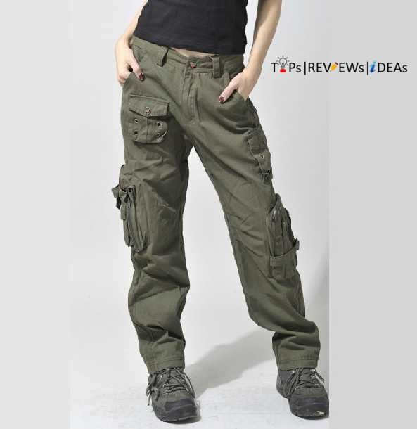 Luxury Online Shop 2013 Winter Women&amp Overalls Cargo Pants Casual Multipocket Loose Hiphop Pants Straight Trousers Thick Army Green Plus Size Hip Hop Wide Leg Army Pants Military Camo Cargo Overalls For Women Hip Hop Pants Camouflage