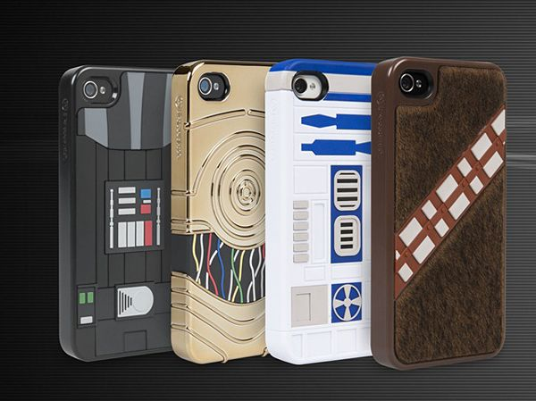 Official Star Wars iPhone Cases Soon To Enter Our Galaxy....... Want -.-