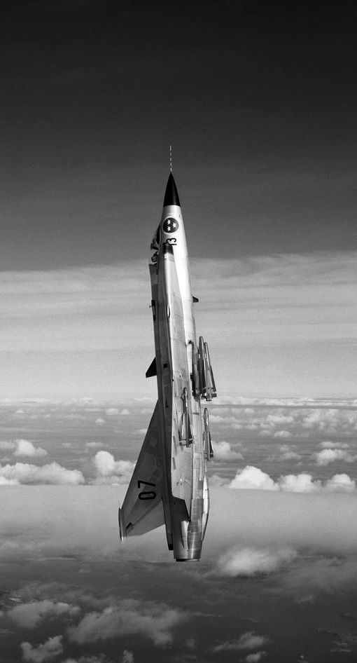Time Wasting Machine - supersonic-youth: Saab 35 Draken