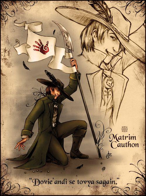 Wheel of Time Matrim Cauthon from http://srj-art.tumblr.com