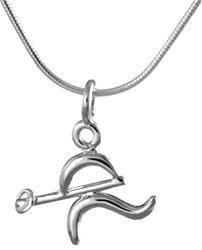 Sporty Jewels: Ringette pendant