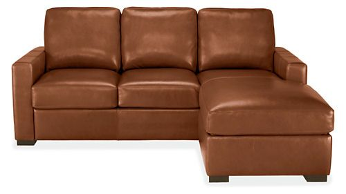 Berin Leather Day & Night Sleeper Sofas with Chaise - Sectionals - Living - Room & Board