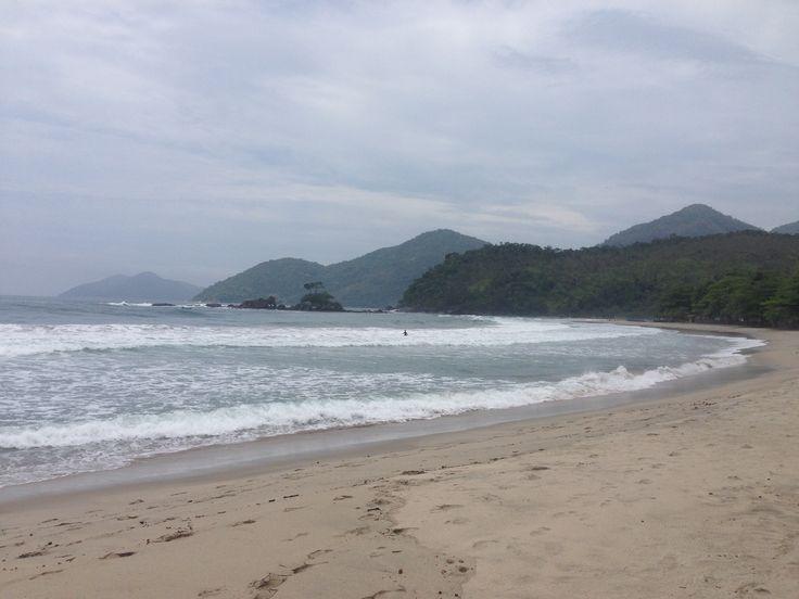Praia do Castelhano nella splendida isola di Ilhabela in Brasile