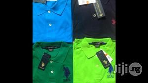 Just arrived, top quality, United States Polo Association (U.S.P.A). Collar T-SHIRTS.  A unique brand with a difference, made of premium quality material and can match with Jeans, Chinos e.t.c., to...
